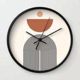 Abstraction_NEW_SUN_BALANCE_BOHEMIAN_POP_ART_M1125A Wall Clock