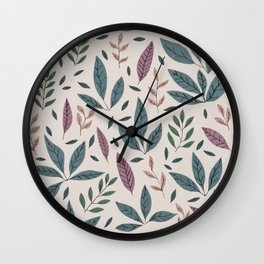 Hand drawn Pattern #01 Wall Clock
