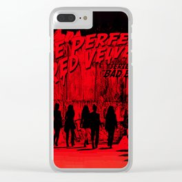 "The Perfect Red Velvet ""Bad Boy"" Clear iPhone Case"