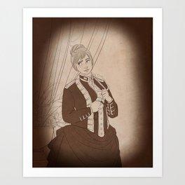 the esteemed dr watson Art Print
