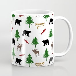 Moose Bear Coffee Mug