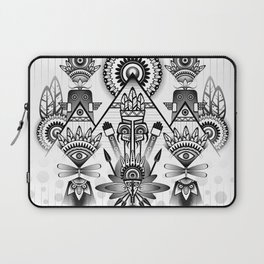 Abstract Ancient Native Indian Laptop Sleeve