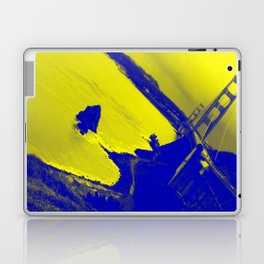 golden is the gate Laptop & iPad Skin