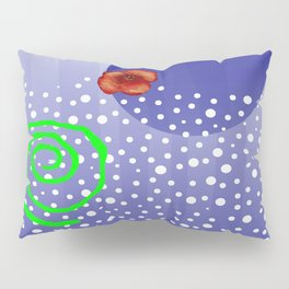 Poppy and rivers Pillow Sham