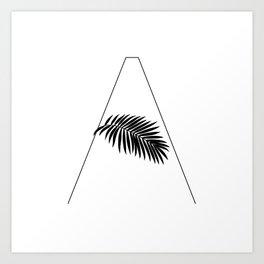 Palm A Art Print