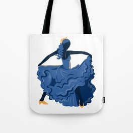 Flamenco Dancer 1 Tote Bag