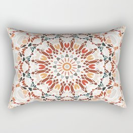 Autumn Colors Mandala Rectangular Pillow