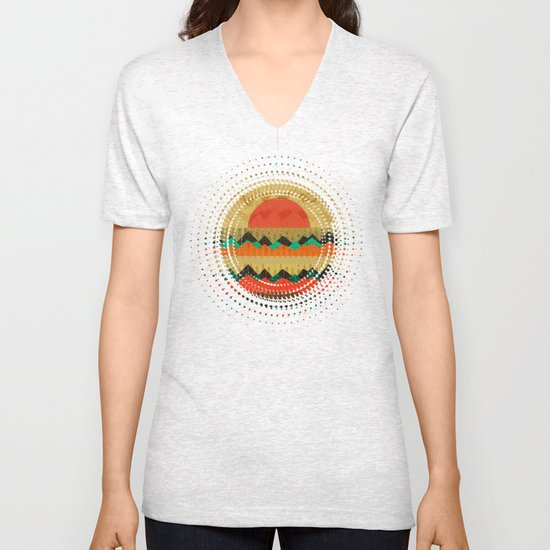Textures/Abstract 138 Unisex V-Neck