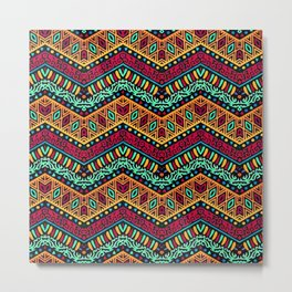 African Style No1 Metal Print