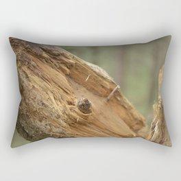 broken tree Rectangular Pillow