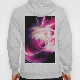 abstract fractals 1x1 reacmag Hoody