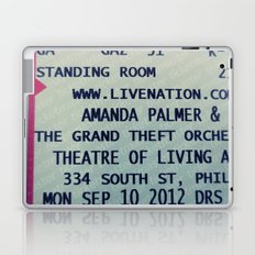 Amanda Palmer & the GTO: Standing Room Laptop & iPad Skin