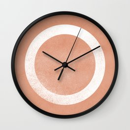Circle minimal artwork Wall Clock