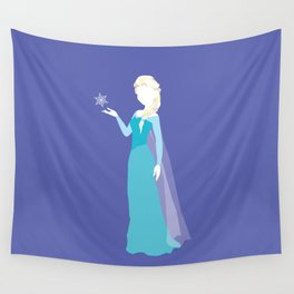 Elsa from Frozen Wall Tapestry