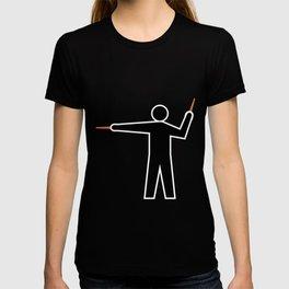 Aircraft Marshaller - LEFT T-shirt
