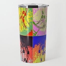 Predator Pop Art Travel Mug