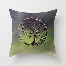 Insurgent | Painting Throw Pillow