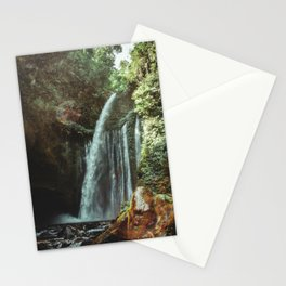 WATERFALL - Lombok, Indonesia Stationery Cards