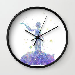Little prince Wall Clock