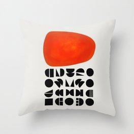 Solar Symbol Throw Pillow