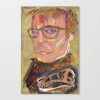 john snow Canvas Prints featuring John  by Liz Haywood