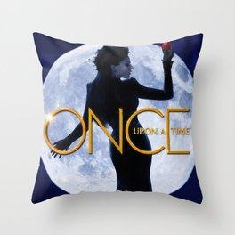 LONG LIVE THE EVIL QUEEN Throw Pillow