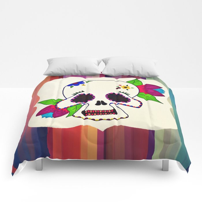 Candy Skull Comforters