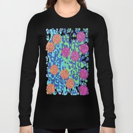 Abstract Dots #1 Long Sleeve T-shirt