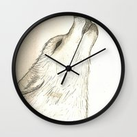 howl Wall Clocks featuring Howl by Lindzey42