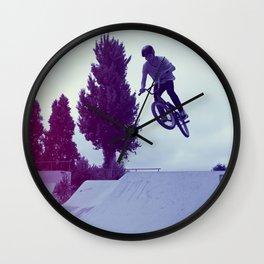 BMX Skatepark Wall Clock