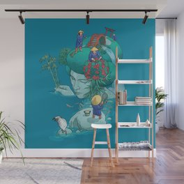 Landscaping Wall Mural