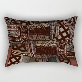 The Knotted Knight Rectangular Pillow