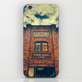 Cotton Exchange iPhone Skin