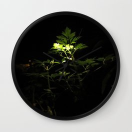 Nighttime in the Garden, 3 Wall Clock