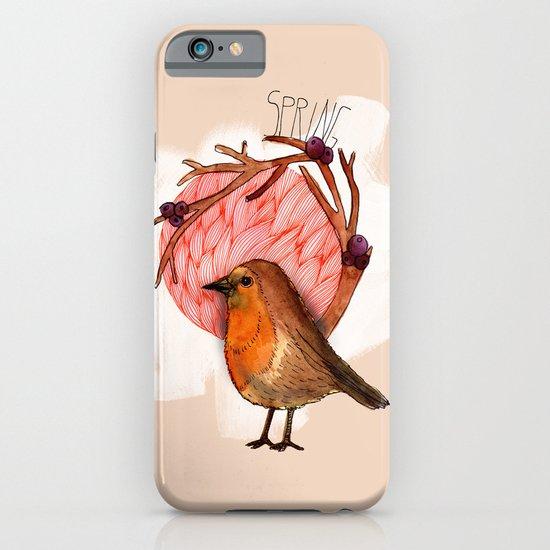 Spring birdy / Nr. 5 iPhone & iPod Case