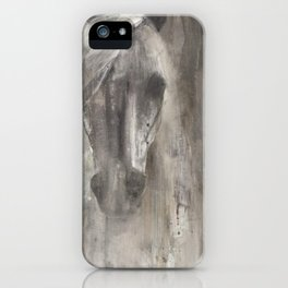 Shadow Light Horse Lover iPhone Case