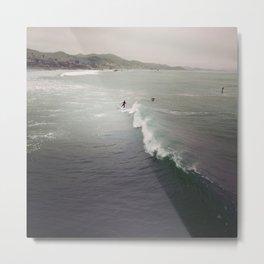 Ocean Ode Metal Print