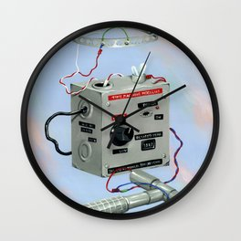 Uncle Rico's Time Machine Wall Clock