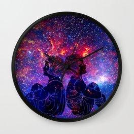 Little Star Gazers Wall Clock
