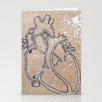 muscle Stationery Cards featuring Love Muscle by Deyanna Lambert Art