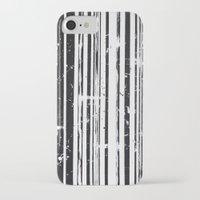 stripe iPhone & iPod Cases featuring Stripe by Moe Notsu