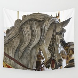 Carousel Pony Wall Tapestry