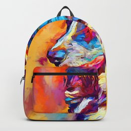 Border Collie 3 Backpack