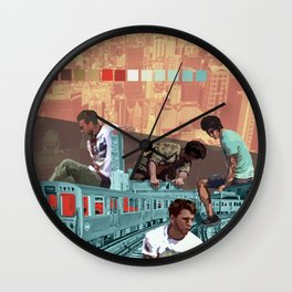 Chicago Red Line Wall Clock