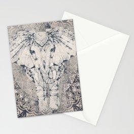 Indian Elephant Mandala Stationery Cards
