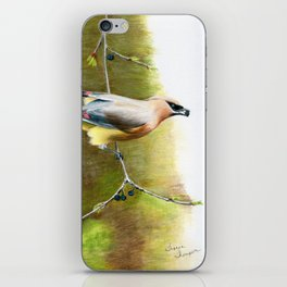 A Quick Bite by Teresa Thompson iPhone Skin