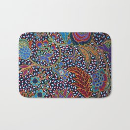 Tahitian Tropical Print Bath Mat