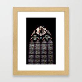 Notre Dame Cathedral. Paris, France Framed Art Print