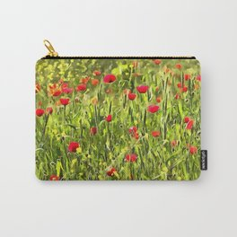 Flanders Poppies Carry-All Pouch
