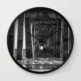 Through the Eye Wall Clock